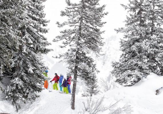 Skiing Arlberg