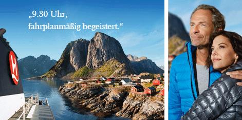 Anzeigen für Hurtigruten