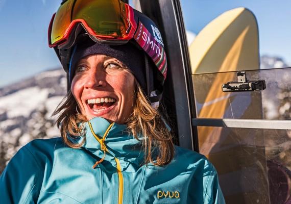 Snowboardlegende Nicola Thost