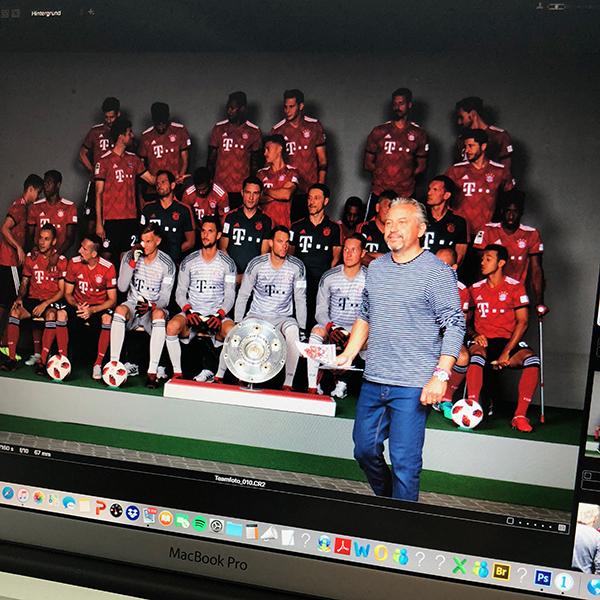 FC Bayern – Mannschaftsfoto